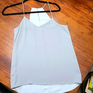 Gray to go out tank top